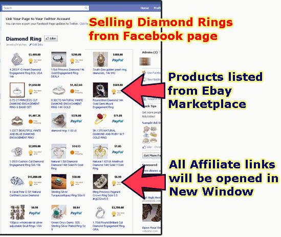 Instant Facebook Store Builder