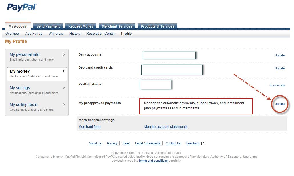 Tắt Tính Năng Thanh Toán Tự Động Trong PayPal