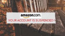 khoa tai khoan Amazon